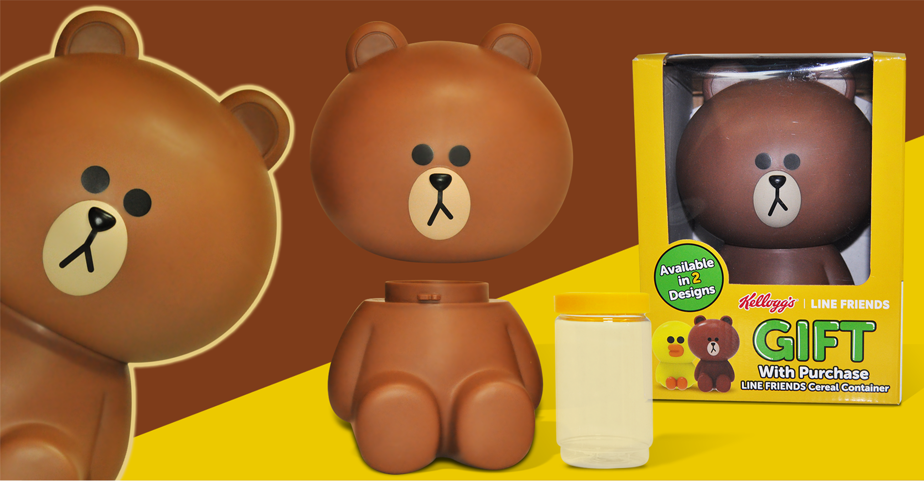 Line friends Container Gift with purchase